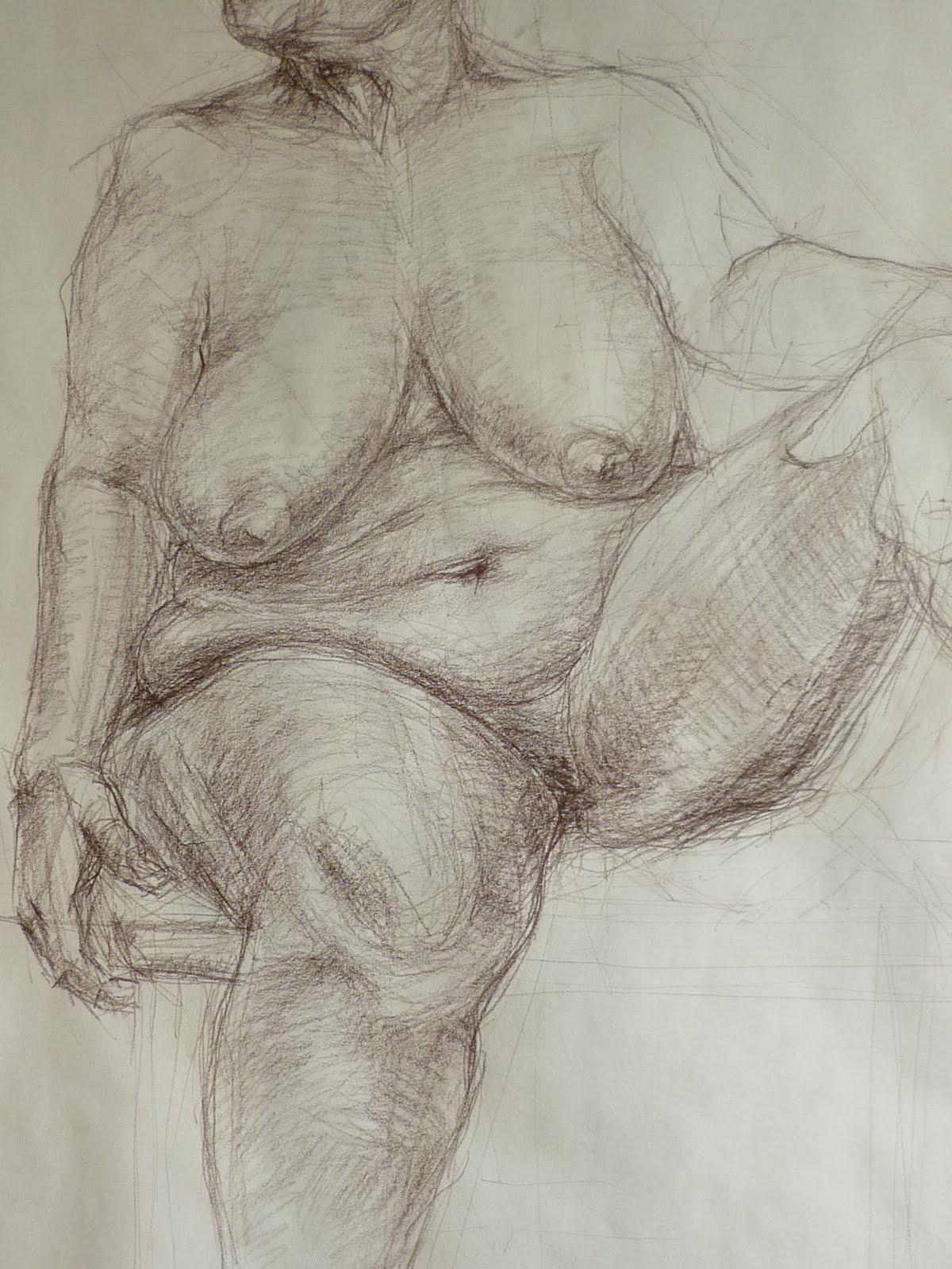woman body draw
